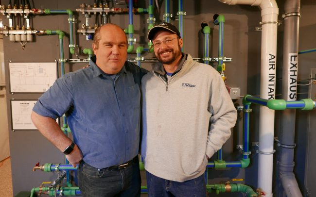 Richard Trethewey and Kevin Bilo proud to finish another successful collaborative project!